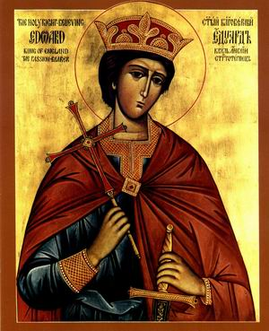 Saint Edward, King and Martyr, святой Эдуард.